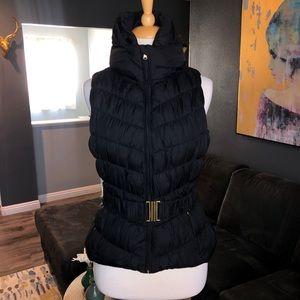 Zara puffer vest, ski vest.